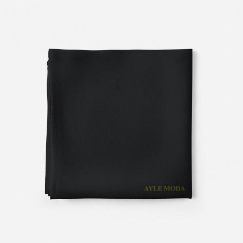 Siyah - Şifon Şal - Sedef - 72x200 Şifon Şallar
