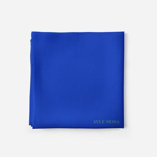 Mavi - Şifon Şal - Sedef - 72x200